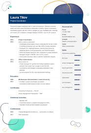 Project Coordinator Resume Examples And 25 Writing Tips