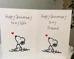 Buon anniversario matrimonio snoopy / dediche buon anniversario di matrimonio amore mio 2021. Snoopy Love Card Etsy