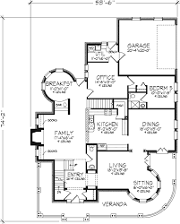 farmhouse plan first floor 072d 0995 house planore