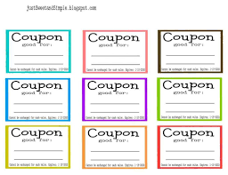 coupons template printable selimtd it