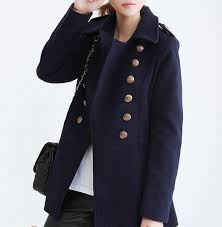coat military coat navy double ted coat winter outfits winter outfits women clothing ping pea coat wheretoget