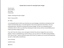 notice to tenant to make repairs templates cleaning notice sample latter day gallery letter tenant repair