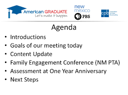 Agenda Introductions Goals Of Our Meeting Today Content Update ...