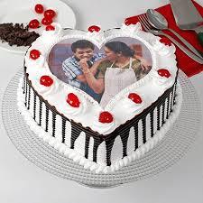 Pink Happy Birthday Heart Shape Cake Name Edit Birthday Cake With