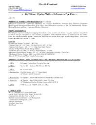 Resume Sample Doc Welder Experience Certificate Format Doc Copy Image Welder Resume 29