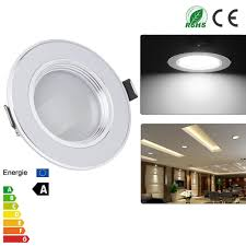 Us 6 59 31 Off Ultra Slim 3w 5w 7w 9w 12w Spot Led White Downlight Flat Lens Recessed Light Non Dimmable Led Lights For Home Ac 110v 220v In