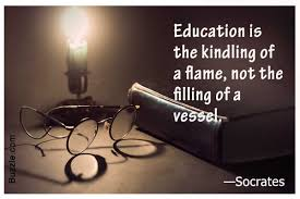 Image result for quotes about igniting the flame in education