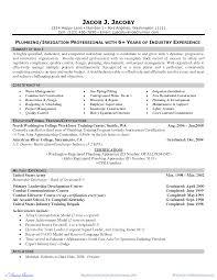 plumbers cover letter plumber resume in doc sample plumber