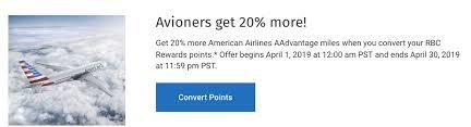 Rewards Canada Rbc Avion Cardholders 20 Bonus Miles When