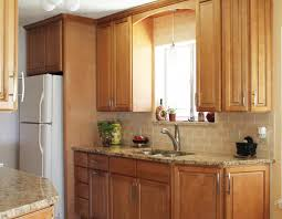 Peach Kitchen Warm Kitchen Design With Granite Countertops Peach Subway Tile