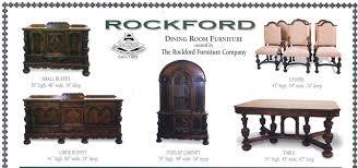 rockford furniture company. Rockford Dining Room Furniture Set Circa 1925 EBay Throughout Company