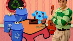 blue s clues what does blue want to do on a rainy day. Plain Clues Blueu0027s Clues  What Does Blue Want To Make Out Of Recycled Things On S To Do A Rainy Day H