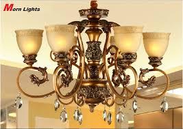 antique bronze chandelier lighting carved modern chandelier light 6 arm crystal chandelier light living room chandelier