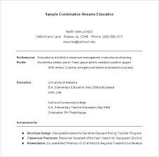 Combination Resume Template Free Unique Combination Resume Template Download Free Examples Cv Word