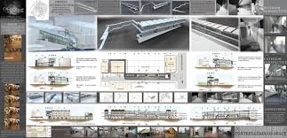Architectural Portfolio Layout Design House Plans 74587