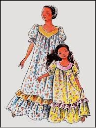 Muumuu Pattern Adorable Amazon Child's Classic Hawaiian Muumuu Dress Sewing Pattern