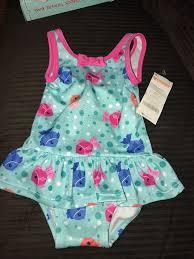 Gymboree Baby Shoe Size Chart Gymboree Babys Swimm Wear 6 12 Months Lite Blue Colors