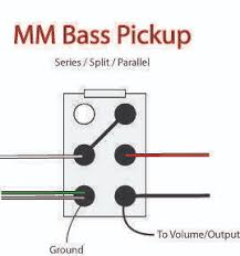 dpdt wiring question com mm bass pickup series parallel