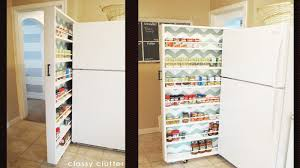 If you have a little space between your fridge and the retaining wall next  to it, or any space about six inches wide in your kitchen, this DIY roll-out  ...