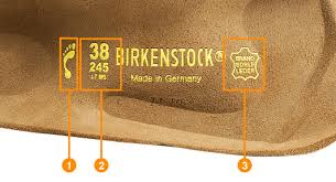 How To Read The Birkenstock Footbed Birkenstock Express
