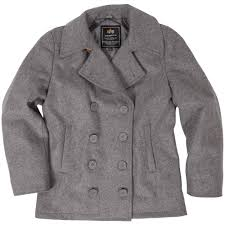 alpha industries ensign peacoat light gray from mcguire army navy military surpluilitary style