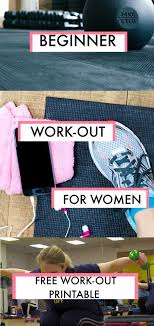 beginner gym workout for women free