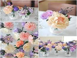 Tissue Paper Flower Centerpieces Paper Flower Wedding Centerpieces Pearloasis Info
