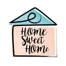 Home Sweet Home Schriftzug - Download Kostenlos Vector, Clipart Graphics,  Vektorgrafiken und Design Vorlagen