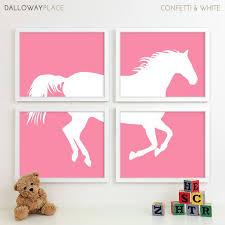 Cowgirl Bedroom Art  Cowgirl Nursery Art   Cowgirl Bedroom Decor   Cowgirl  Nursery Decor   Western Girls Room Pony Pink Nursery