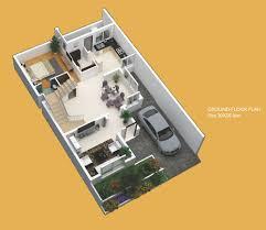 terrae plan ground floor 30 x 50 feet ground