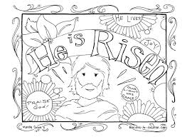 Religious Easter Coloring Pages Getcoloringpagescom