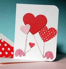 25 Cool Diy Valentine's Day Card 2017 #valentinedaycard  #diyvalentinedaycard #valentinegreetingcards #diyhandmadecard #