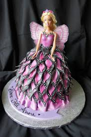 Mariposa Barbie Doll Cake This Cake Was Inspired By Andrea Flickr