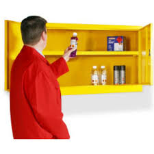 wall mounted flammable storage