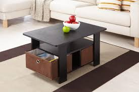 Coffee Tables With Basket Storage Rectangular Coffee Table With Ottoman Underneath Coffee Table