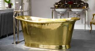 bold as brass this romantic beauty in gleaming brass is a luxury take on the