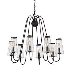 oleander 8 light outdoor chandelier