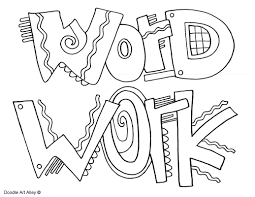 The Daily Five Coloring Pages - Classroom Doodles