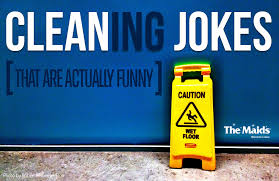 we re laughing our way right through hump day with these cleaning jokes that are