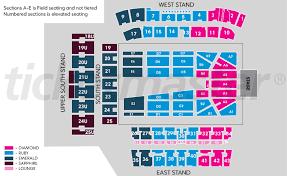 Mt Smart Stadium Seating Map Elcho Table