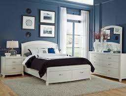 white king storage bed. Brennan White King Storage Bed