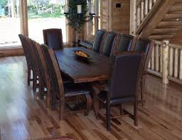 rustic dining table and chairs brilliant 42 room sets within 13 pertaining to set decor 11