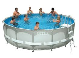 Metal Sided Above Ground Pools Awesome INTEX Starting 99 Home