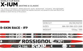 Amazon Com Rossignol R Skin Ifp Xc Skis Mens Sports