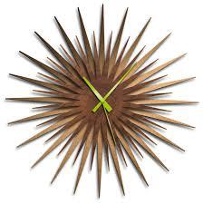 mid century modern atomic era clock