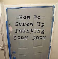 what color should i paint my front doorThrive How To Screw Up Painting Your Front Door