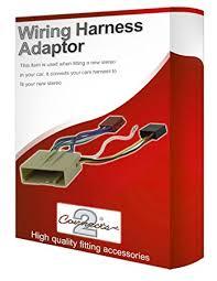 ford fiesta cd radio stereo wiring harness adapter lead amazon co ford fiesta cd radio stereo wiring harness adapter lead loom iso converter wire