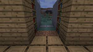 Charming How To Make A Bookshelf Door In Minecraft 71 With