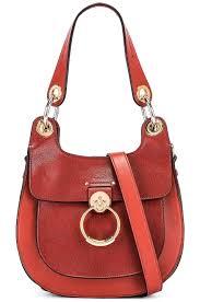 chloe small tess leather hobo bag
