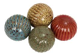 Decorative Balls For Bowl Amazon Deco 60 Ceramic Ball 6060 by 160360Inch Set of 60 11